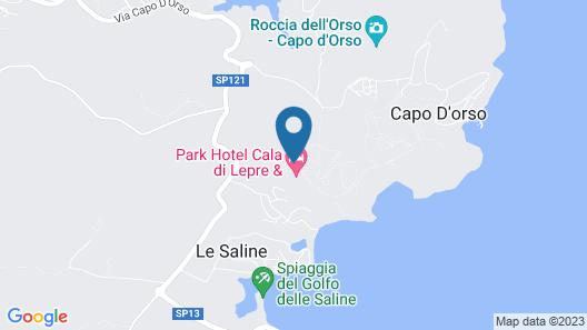 Park Hotel Cala di Lepre & Spa Map