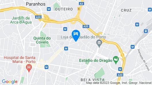 733 Costa Cabral Metro Residence Map