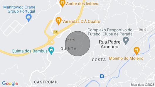 Villa 15 minutes from Porto Map