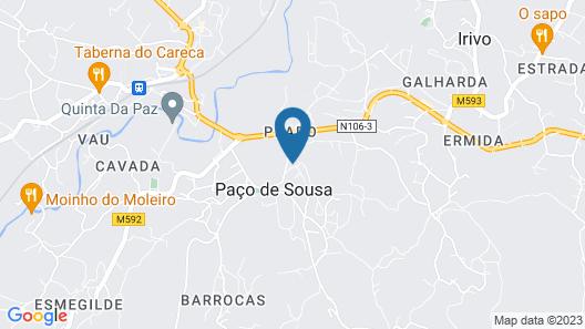 Solar Egas Moniz Charming House & Local Experiences Map