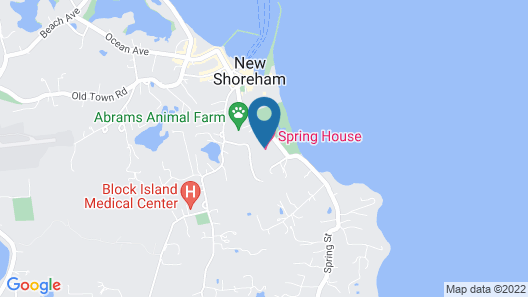 Spring House Hotel Map