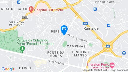Boavista Villa Guesthouse Map
