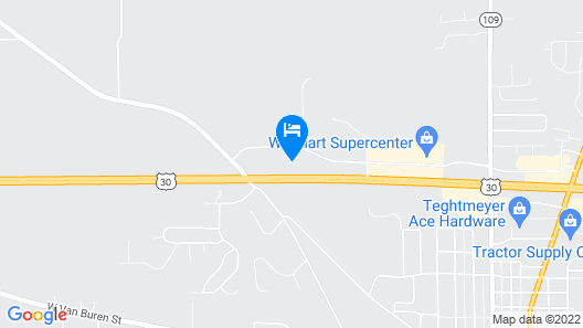 Holiday Inn Express & Suites Columbia City, an IHG Hotel Map