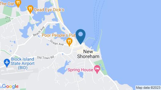 The Blue Dory Inn Map