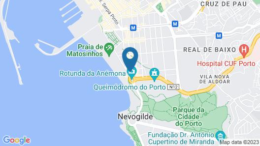 Porto Sea Apartments Map