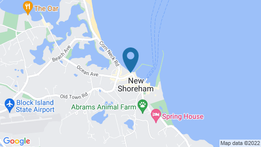 Block Island Beach House Map