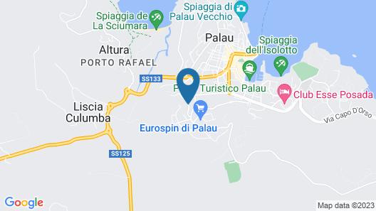 Hotel Palau Map