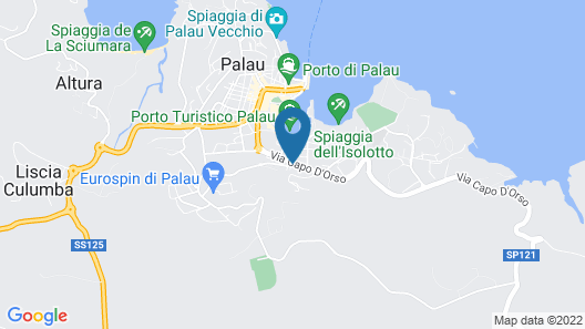 Grand Hotel Palau Map