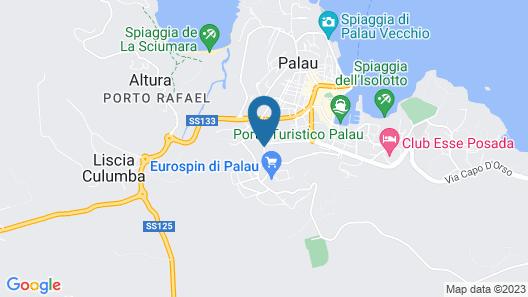 Villa Smeralda Map