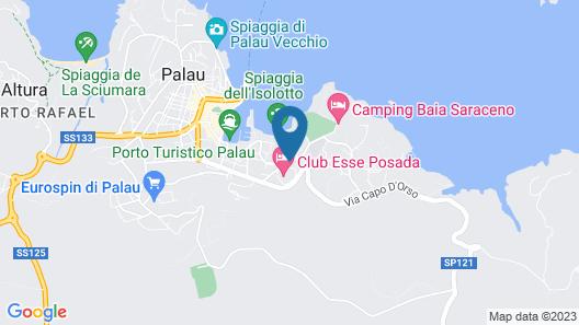 Club Esse Posada Map
