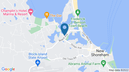 Payne's Harbor View Inn Map