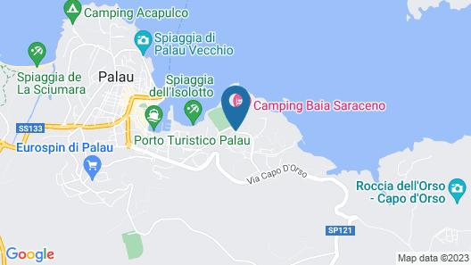 Palau Green Village Map