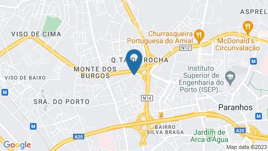 Star Inn Porto Map