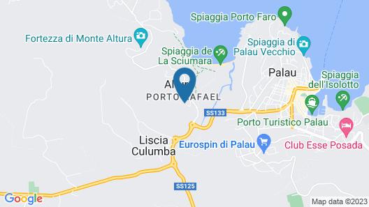 Club Esse Porto Rafael Map