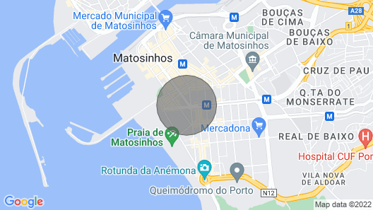 Porto 2 Bed Room Beach Apartment Map
