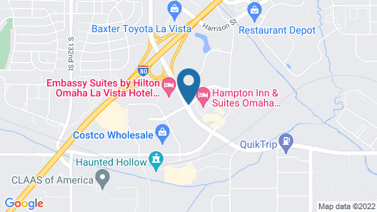 Hampton Inn & Suites Omaha Southwest-La Vista Map