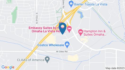 Courtyard by Marriott Omaha La Vista Map