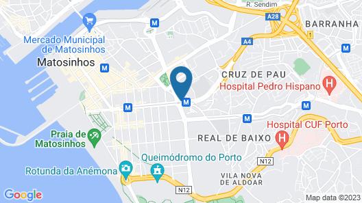 Urban Hotel Amadeos Map