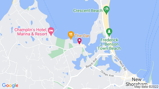 Narragansett Inn Map