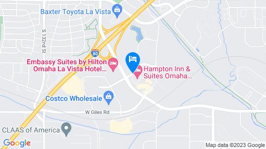 Embassy Suites Omaha-La Vista/Hotel & Conference Center Map