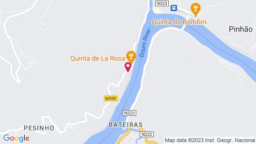 Quinta de la Rosa Map