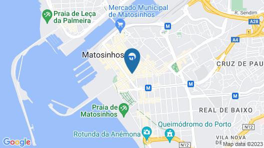 Hostel Matosinhos Suites Map