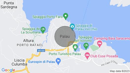 Villa con Vista Sull'arcipelago Map