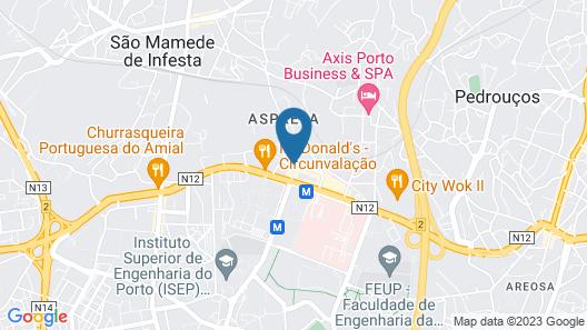 Eurostars Oporto Map