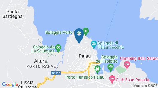 Baia Del Faro Map