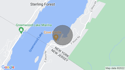 Rocky Point- Aboslutely the Best Location on Greenwood Lake! 1 Hour From NYC Map