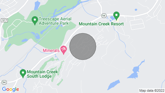NEW 3flr Town House at Mountain Creek...game Room/pools/golf/bbq/spa/hiking Map