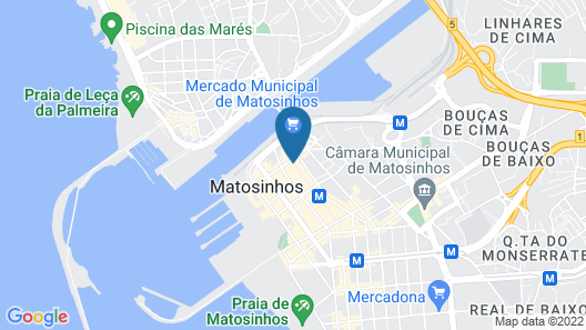 Hotel Porto Mar Map