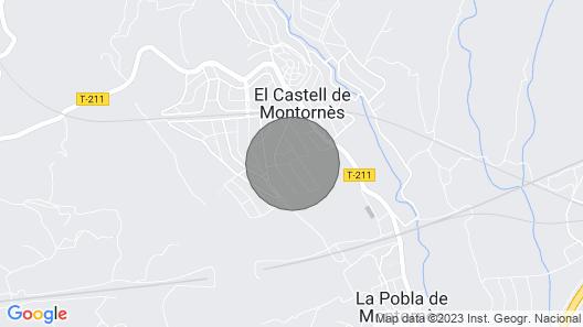 Ana House - Pobla de Montornés Map