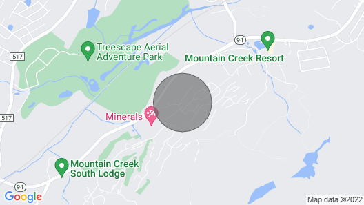 Gorgeous Crystal Springs Mountain Creek Townhouse Map