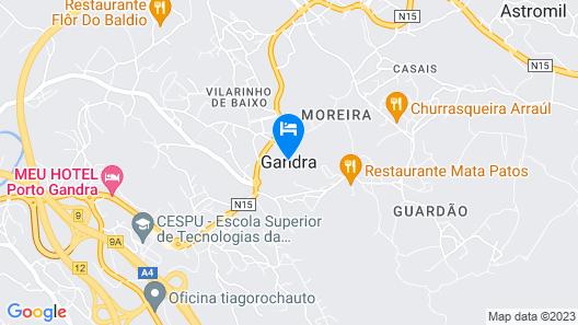Roque Village - Vieira do Minho Map