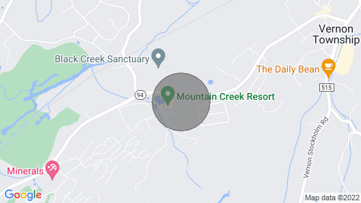 Hawks Way - #308 -mountain Front-at the Mountain Creek Ski Resort Map