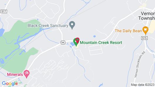 Mountain Creek Map