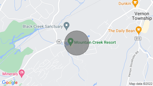 Black Bear at Mountain Creek Resort - Hike, Bike, Lake, Wineries, Pool Map