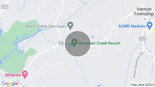 Eagles Way at Mountain Creek Resort - Hike, Bike, Pool, Wineries, Hot Tubs Map