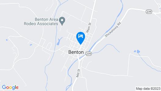 Mattress and Muffin Inn Map