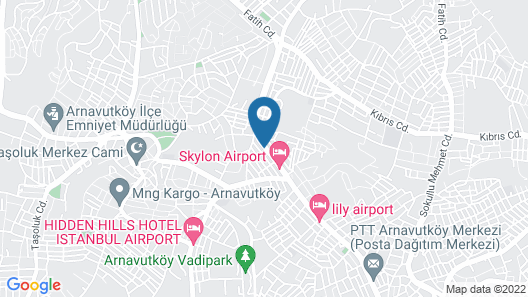 FRT AİRLİNES OTEL Map
