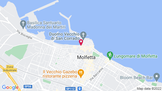 Dogana Resort Map