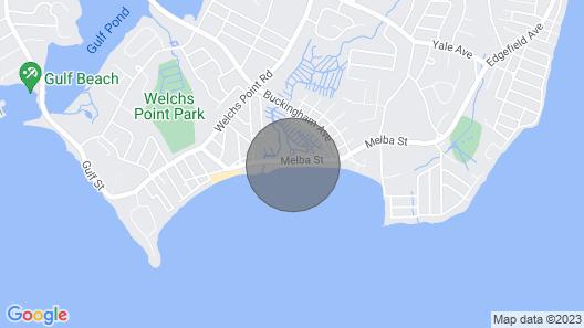 Direct Beachfront Property On Long Island Sound Map