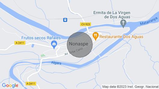 Casa Rural cal Antoniet del Matarraña Map