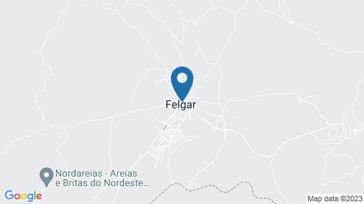 Casa de Santa Cruz Map