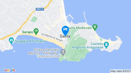 Hotel Mirasole International Map