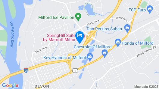 Residence Inn by Marriott Milford Map