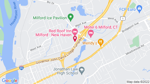 Springhill Suites Milford Map