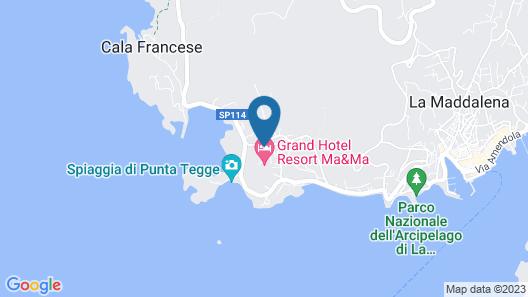 Residence La Maddalena by PendraHolidays Map