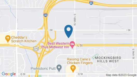 Motel 6 Omaha, NE Map